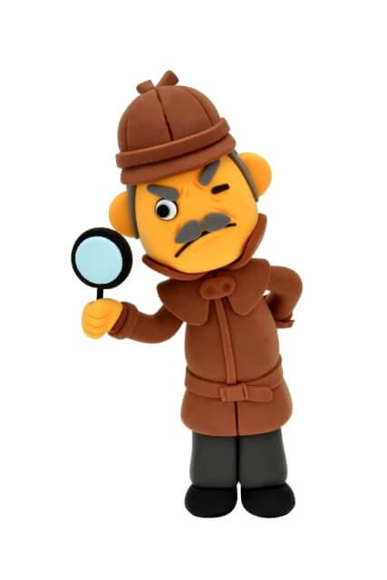 観察する探偵