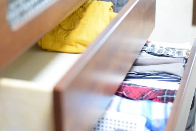 衣類を収納