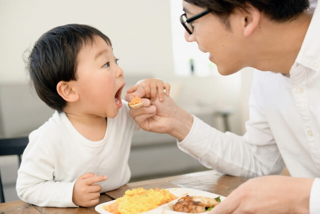 父と子の食事
